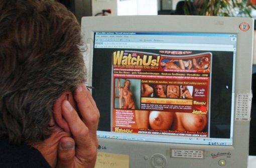 Am Computerbildschcirm muss der Pornosüchtige keine Zurückweisung fürchten. Foto: dpa-Zentralbild