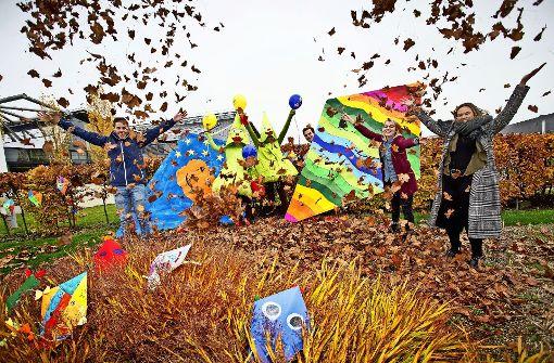 Messeherbst: So bunt wie die Drachen aus der Spiele-Abteilung Foto: Landesmesse