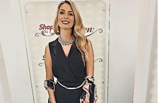 Die neue Shopping-Queen aus Sutttgart: VfB-Spielerfrau Natalie Grahl in ihrem Siegeroutfit. Foto: privat