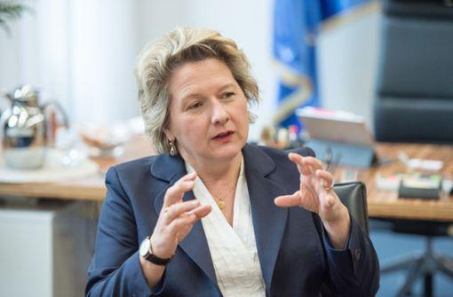 Die Sozialdemokratin Svenja Schulze will im Umweltministerium auch Industriepolitik machen. Foto: dpa