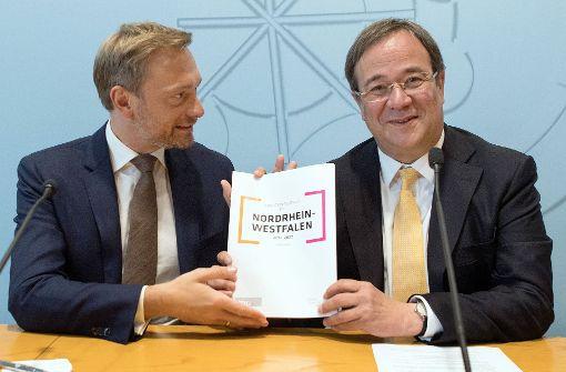 Union sieht Koalition mit  FDP skeptisch
