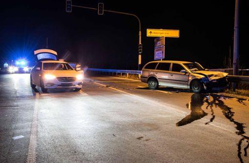 Fünf Verletzte bei Crash auf Kreuzung