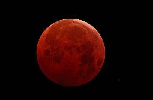 So sah die Sternwarte Welzheim dem Blutmond