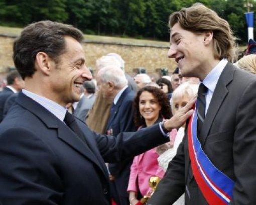 Sarkozy ist Opa