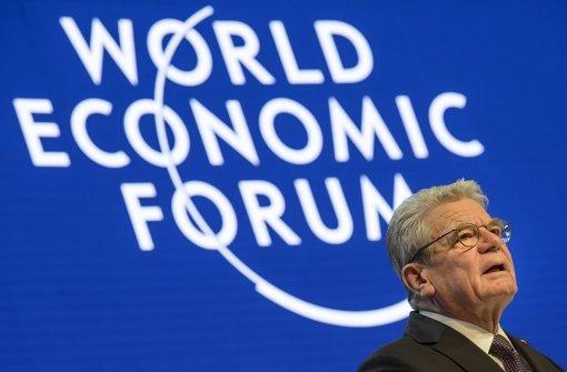 Gauck warnt vor Zerbrechen Europas