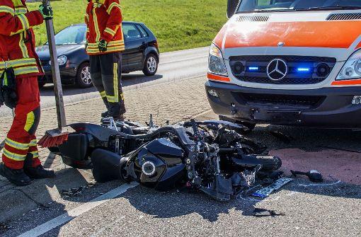 Zwei weitere Motorradunfälle in Stuttgart und der Region