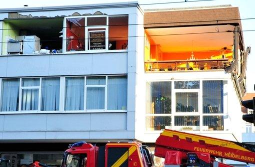 Bei einer gewaltigen Explosion in einem Heidelberger Restaurant sind am Freitagabend mehrere Menschen schwer verletzt worden. Foto: dpa