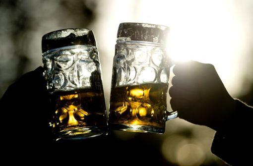 Warum ist man durstig nach dem Bier?