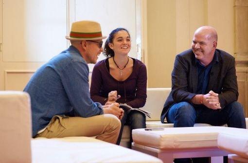 Elena im Gespräch mit Jan Delay