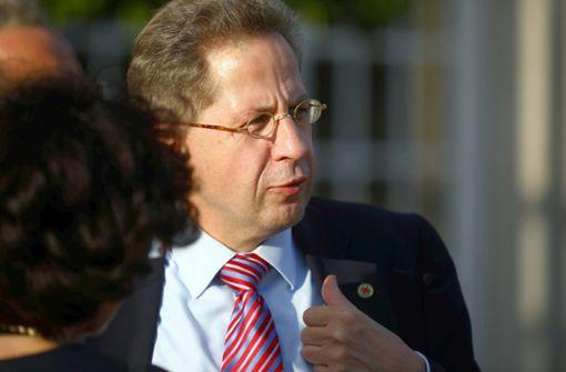 Für Hans-Georg Maaßen bleibt es weiterhin eng. Foto: Reuters Pool