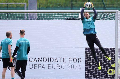 Übungsspiel in Eppan: Neuer testet als U20-Torwart