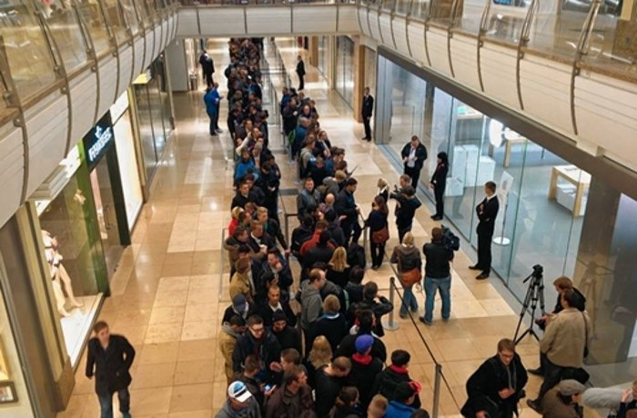 Apple-Store in Sindelfingen: Apple-Hype im Breuningerland