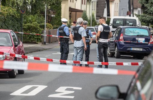 Vater bringt Kind zum Auto und wird erschossen