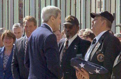 US-Flagge weht wieder in Havanna