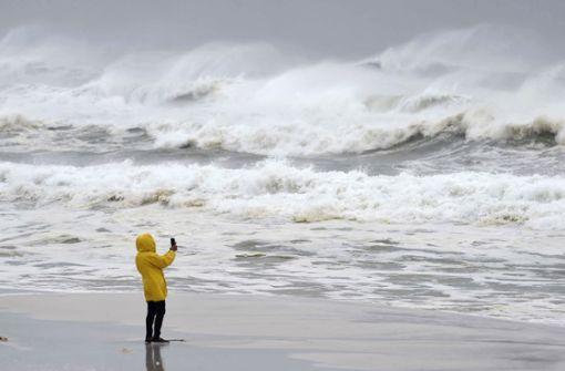 "Hurrikan ""Michael"" trifft in Florida auf Land"