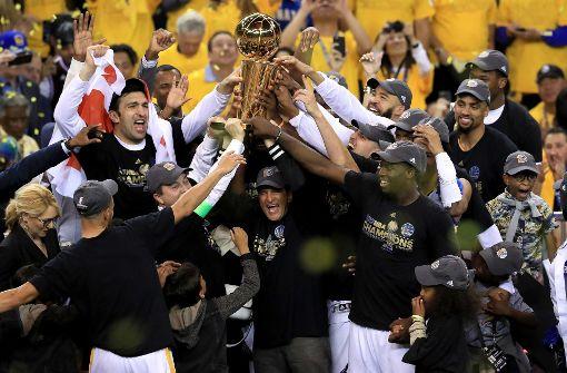 Fünfter NBA-Titel für Golden State Warriors