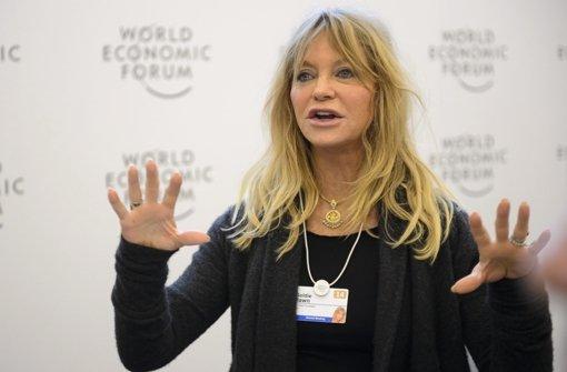 In Davos suchen Promis offene Ohren