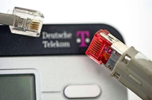 Kaputte Telekom-Kabel werden ausgetauscht