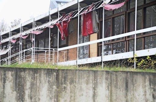 In Kulturdenkmale fließt Regenwasser