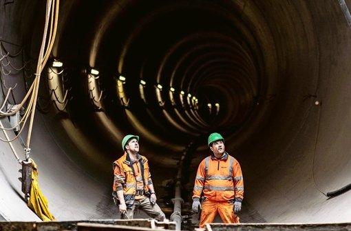 Durch diese Röhre sollen von Juli 2016 an Stadtbahnzüge rollen Foto: Lichtgut/Leif Piechowski