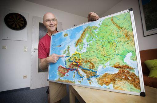 9000 Kilometer quer durch Europa