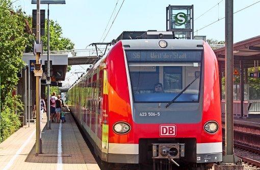 Die S-Bahn fährt von Donnerstag bis Montagfrüh nur bis Korntal
