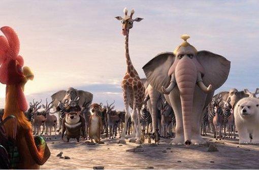 """Die Tiere schließen sich zusammen, um die Zerstörung ihres Lebensraumes durch den Menschen zu stoppen: Der 3D-Animationsfilm """"Konferenz der Tiere"""" nach Erich Kästner läuft noch einmal bei Natur Vision. Foto: Festival"""