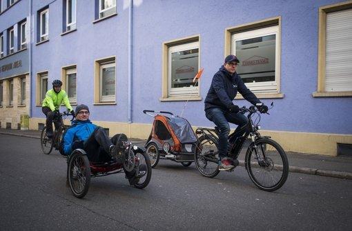 Radfahren soll in Stuttgart ein Vergnügen werden, wünscht sich die Stadt. Wir haben einen Praxistest gemacht. Foto: Lichtgut/Max Kovalenko