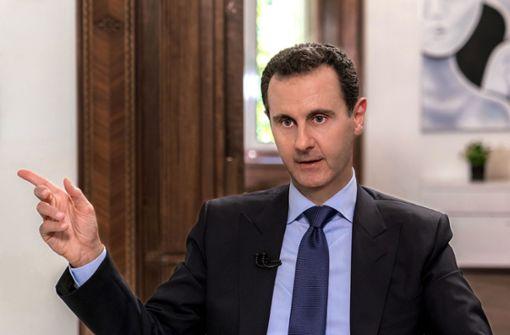 Assads Fahne in ältester Rebellenhochburg gehisst
