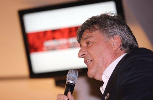Für VfB-Präsident Bernd Wahler ist der DFB-Pokal eine willkommene Einnahmequelle. Foto: Pressefoto Baumann