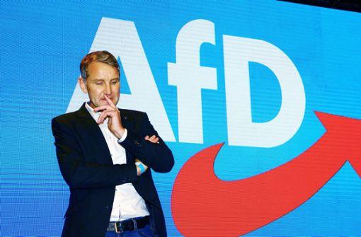 Wahlkreisbüro von Höcke vor Eröffnungsfeier beschädigt