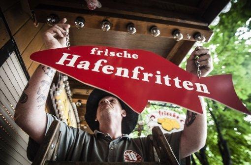 Aale-Dieter und Jazz ködern die Gäste