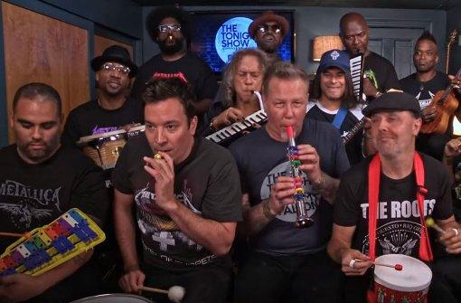 Dieses Video von Metallica bei Jimmy Fallon begeistert das Netz
