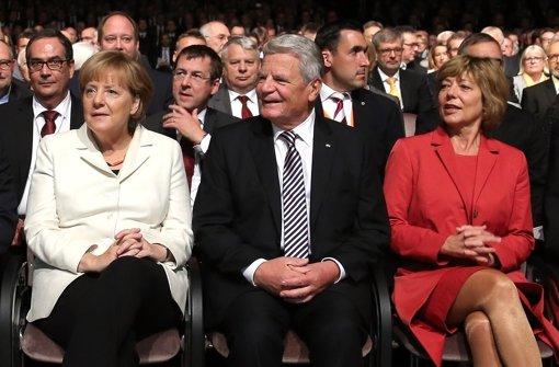 Gauck vergleicht Flüchtlingskrise mit Wiedervereinigung