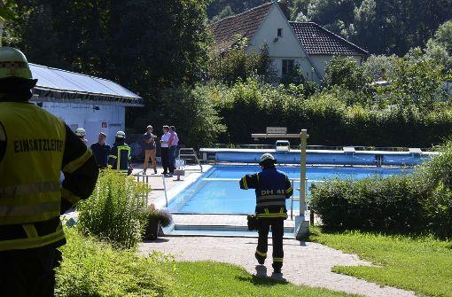 Freibad evakuiert wegen Gasaustritt