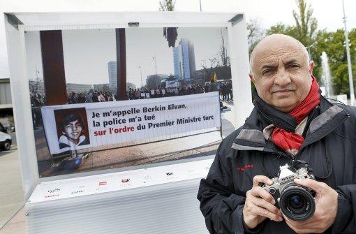 Genf lässt Erdogan-kritisches Foto hängen