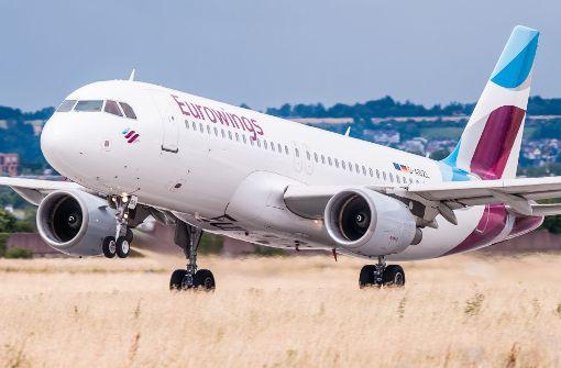 Eurowings will vier Flugzeuge mehr einsetzen