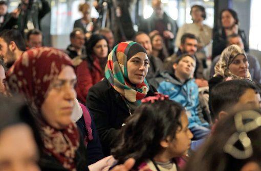 Flüchtlingsbetreuung ist ein Thema