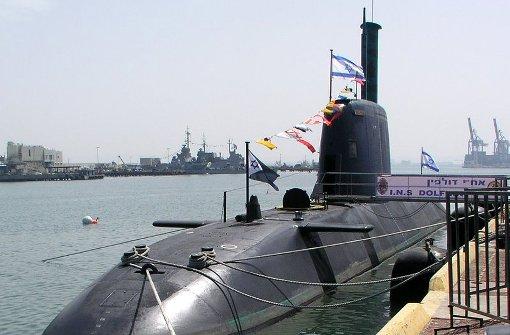 Deutsches U-Boot der Dolphin-Klasse im Besitz der israelischen Marine. Foto: dpa