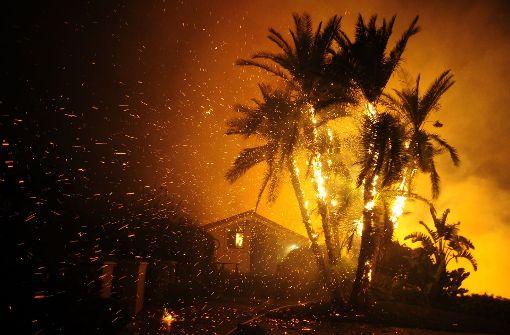 In Kalifornien wüten schlimme Waldbrände. Foto: ZUMA Wire/dpa