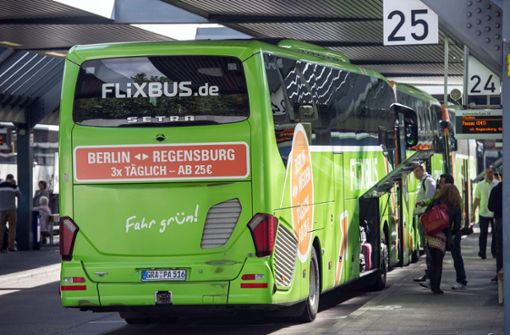 fernbusse in deutschland flixbus mit neuer konkurrenz. Black Bedroom Furniture Sets. Home Design Ideas
