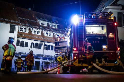 Polizei: Keine Hinweise auf Brandstiftung