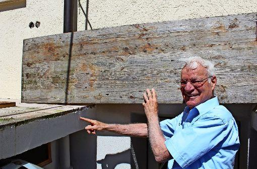Anwohner sorgen sich wegen Rissen in der Terrasse