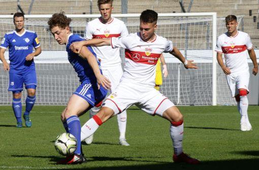 Aufholjagd des VfB Stuttgart II