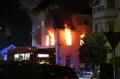 Um 5.20 Uhr wurde das Feuer in der Unterkunft gemeldet.  Foto: 7aktuell.de/Christina Zambito