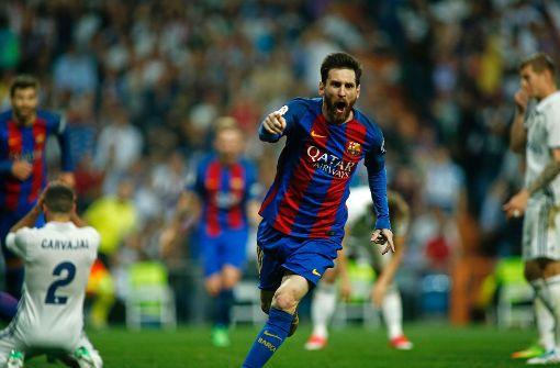 Lionel Messi entscheidet spektakulären Clásico