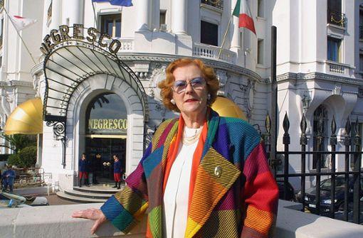 """Eigentümerin des Hotels """"Negresco"""" mit 95 in Nizza gestorben"""