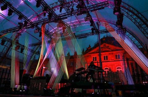 Farbenfrohes Finale des Sommerfestivals am Schlossplatz Foto: 7aktuell.de/Friedrichs