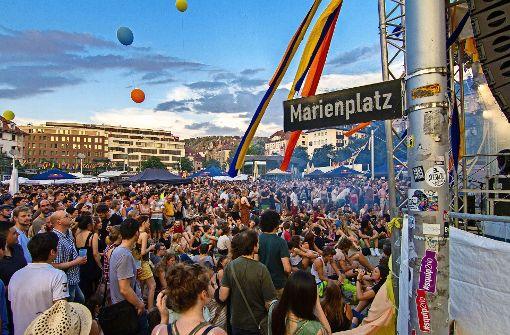 Das wird sich auf dem Marienplatzfest ändern