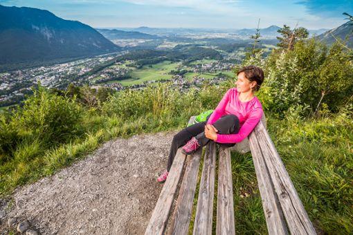 Durchatmen in der herrlichen Natur rund um die Alpenstadt Bad Reichenhall  Foto: Berchtesgadener Land Tourismus GmbH Geschäftsstelle Bad Reichenhall